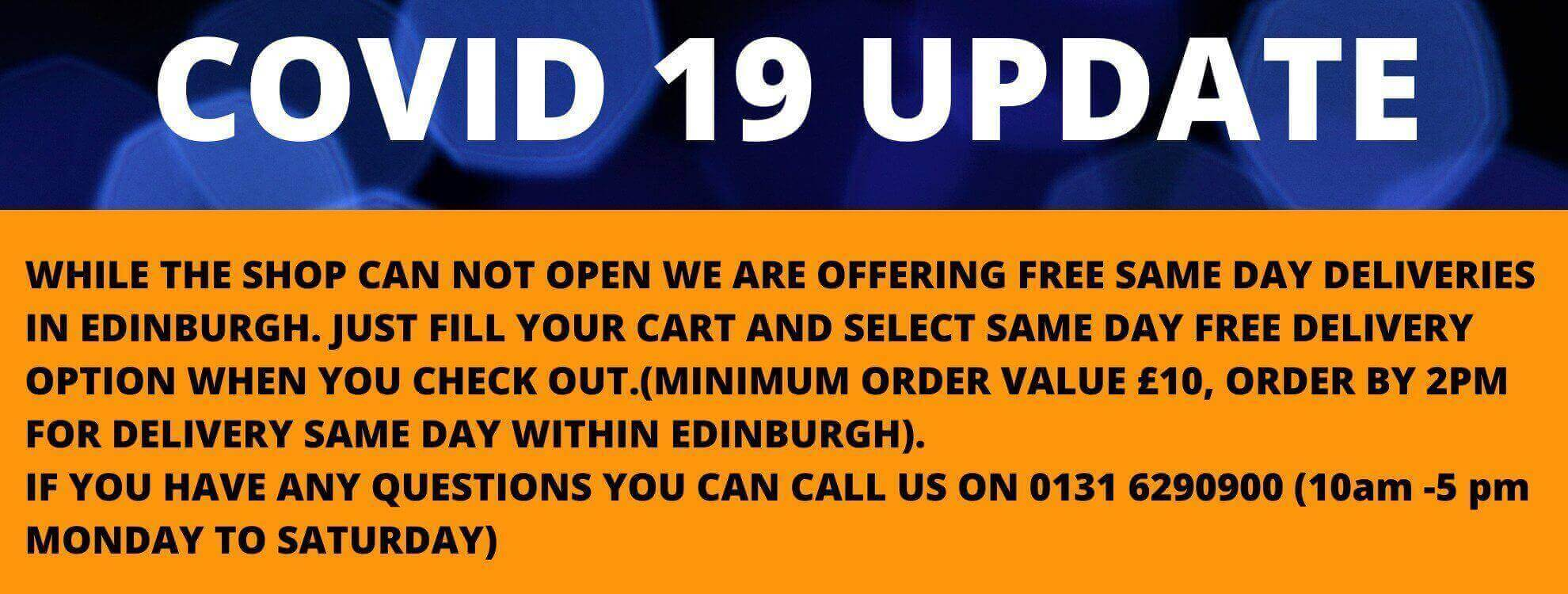 Aqua vapour free same day delivery banner
