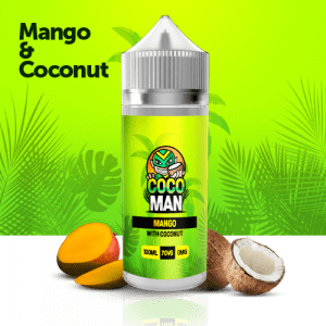 Cocoman Mango coconut 100ml 9.99 liquid edinburgh