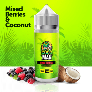 Mixed Berries with coconut liquid 100ml