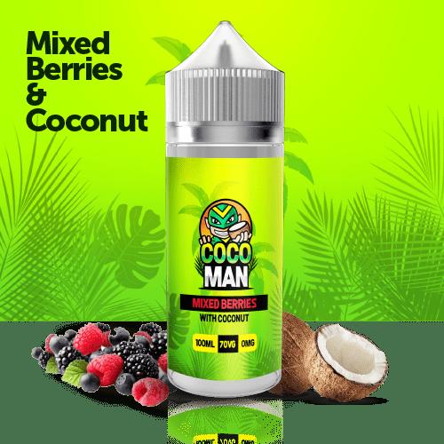 Mixed Berries with coconut liquid 100ml