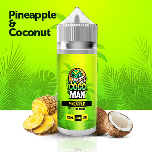 pineapple with coconut