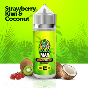 strawberry kiwi coconut 100l liquid 9.99