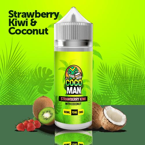 strawberry kiwi coconut 100l liquid 9.99