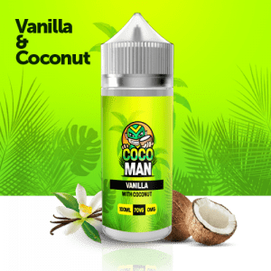 Vanilla coconut 100 ml liquid