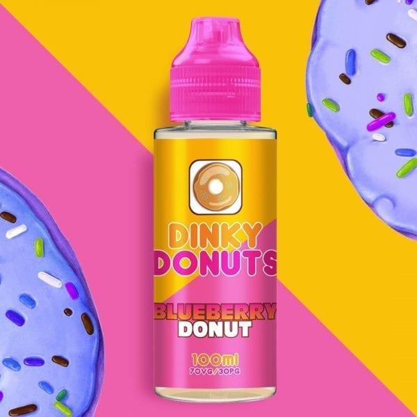 blueberry donut e liquid 100ml £9.99